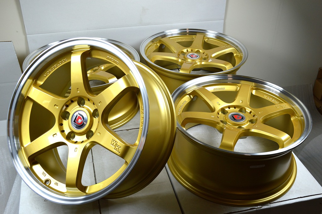 Acura Rsx For Sale >> 18 gold Wheels Rims ES350 GS300 TL MKZ Accord Legend ...